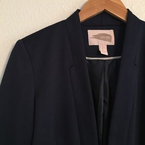 Forever 21 Contemporary Navy Blazer Size XS